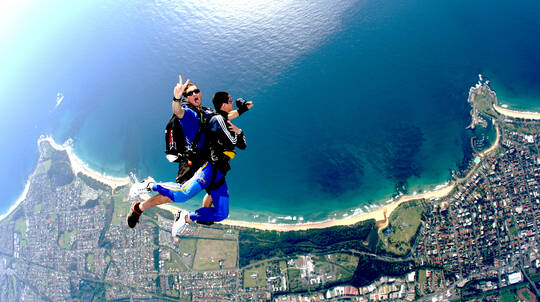 Skydive Over The Beach - Up To 15,000ft- Weekday- Wollongong