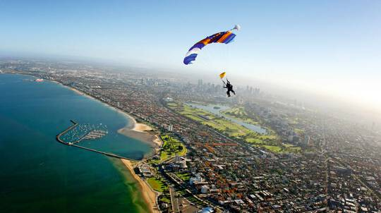 Skydive Over St Kilda, Melbourne - Up To 15,000ft - Midweek