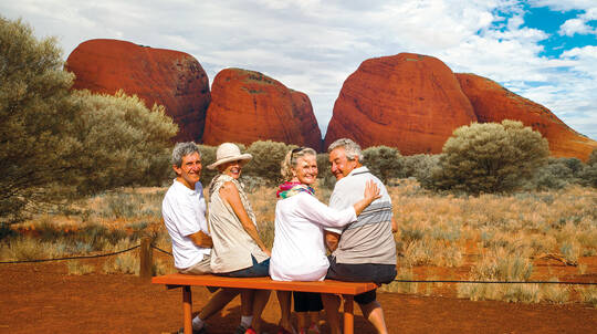 Kata Tjuta Sunrise Viewing and Valley of the Winds Walk