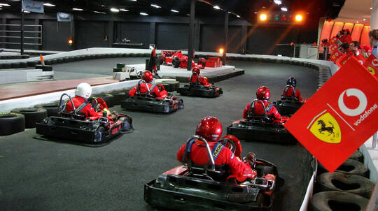 Karting Racing Session - 30 Laps - For 2