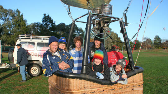 Family Hot Air Balloon and Overnight Stay - Midweek