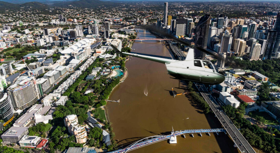 Scenic Helicopter Flight Over Brisbane - 12 Minutes