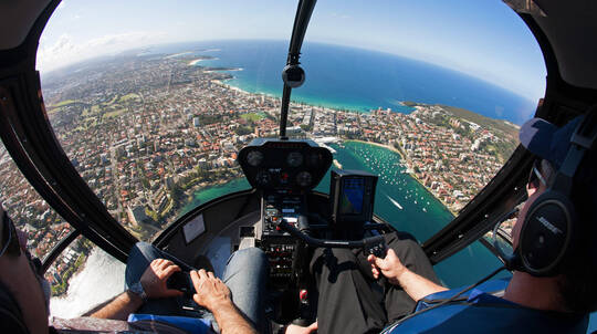 Private Helicopter Flight Over Sydney - 20 Minutes - For 3