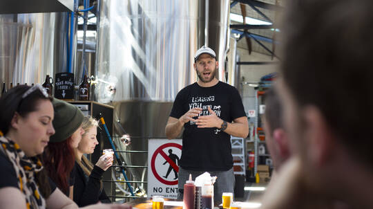 South Melbourne Brewery Tour with Lunch - For 2