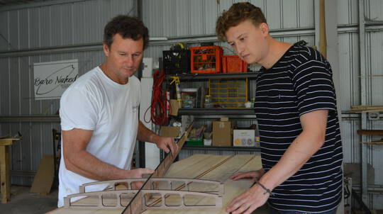 3 Day Wooden Surfboard Workshop with Custom Long Board