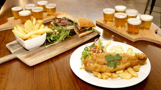 Brewery Tour, Beer Tasting and Traditional Pub Meal