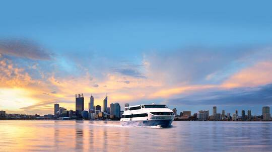 Perth Swan River Dinner Cruise with Drinks - For 2