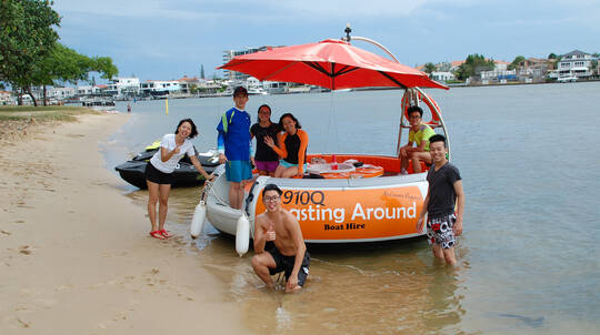 Private BBQ Boat Hire - 60 Minutes - Gold Coast