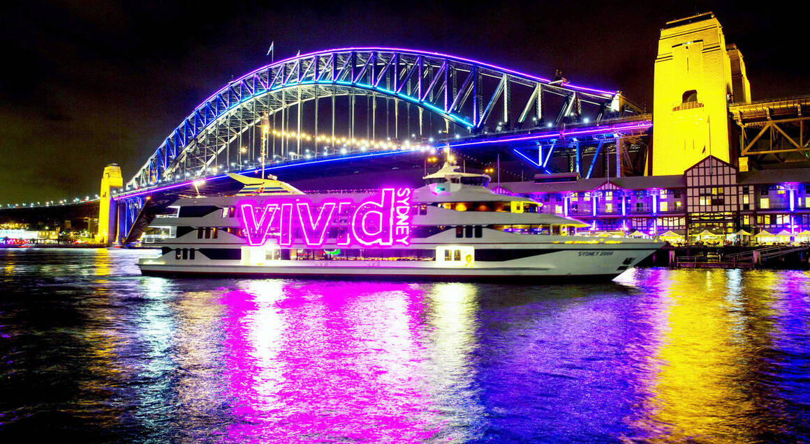 VIVID Lights Evening Cruise - Child