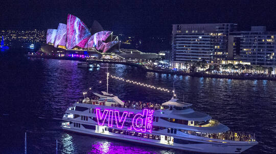 Vivid Sydney Penfolds Degustation Dinner Cruise with Window