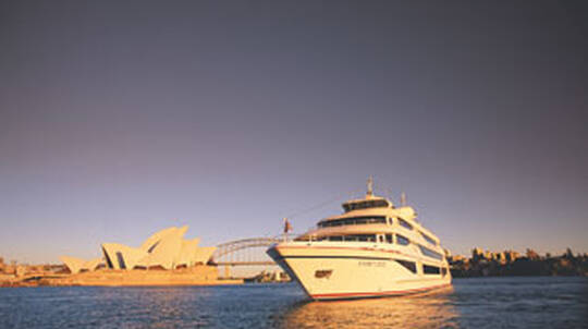 Degustation Dinner Cruise on Sydney Harbour