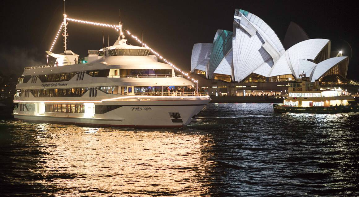 Penfolds Degustation Dinner Cruise on Sydney Harbour - For 2