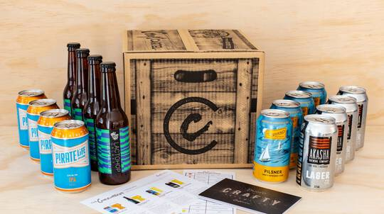 Connoisseur Craft Beer Gift Box