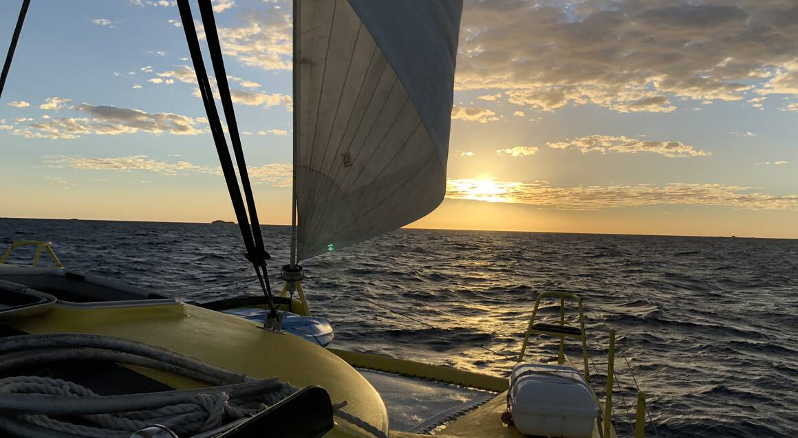 Sunset Sparkling Wine Cruise by Catamaran - For 2