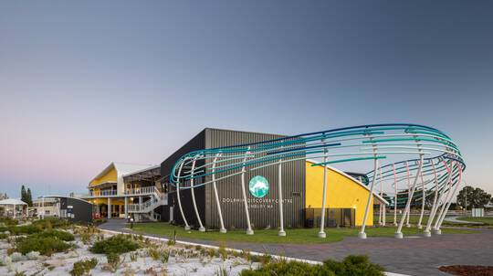 Dolphin Discovery Centre Entry