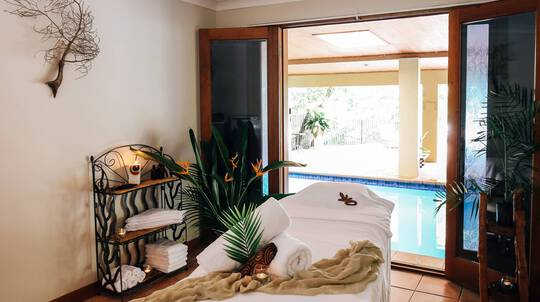 Massage, Facial, Rain Therapy Treatment and More - 3 Hours
