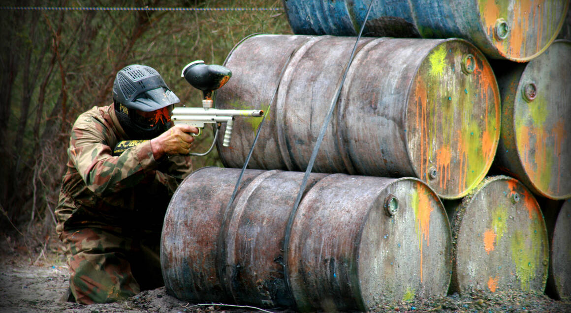 Group Paintball Experience - 100 Paintballs - Muchea