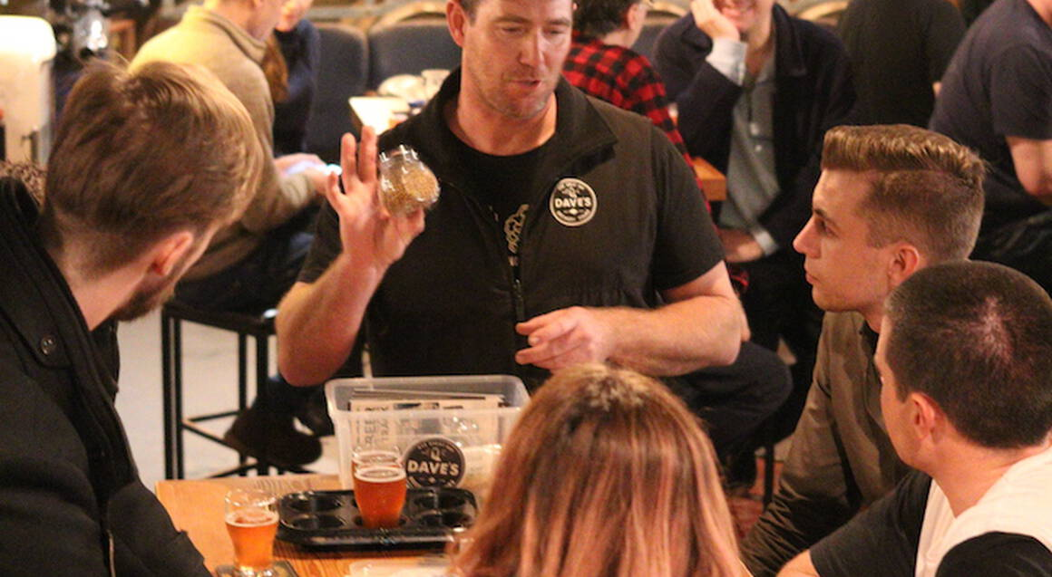 Evening Brewery Tour with Pub Dinner Voucher - 2.5 Hours
