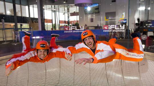 Indoor Skydiving Intro - 2 Flights - For 2 - Gold Coast