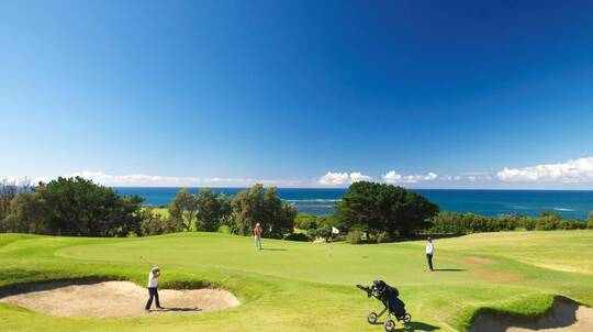 Overnight Getaway with Breakfast and Golf - For 2