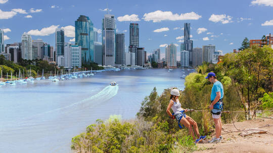 Abseiling Kangaroo Point Cliffs - 90 Minutes
