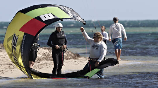 Kitesurfing for Beginners - Lesson