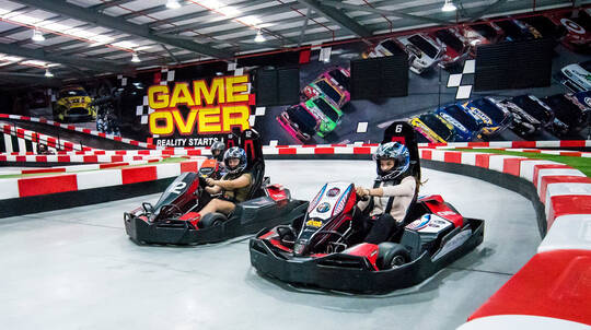 Go Karting, Laser Tag and Indoor Climbing Combo