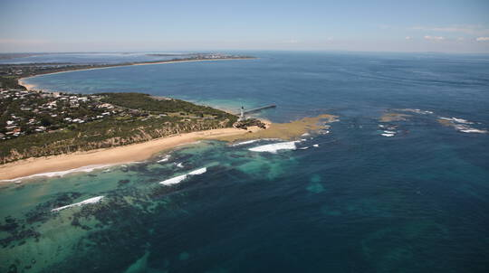 Helicopter Flight over Victoria's Southern Coastline - For 2