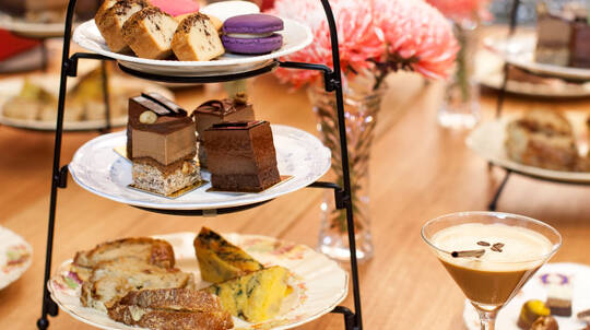 Chocolate High Tea with Dessert Cocktail and Tour - For 2