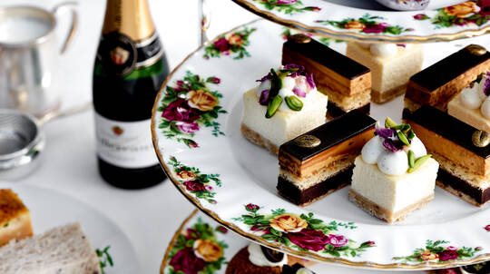 Gunners' Barracks Champagne High Tea - For 2