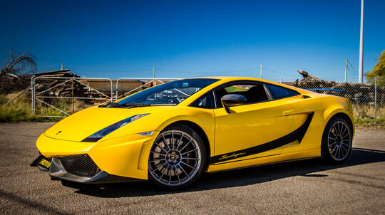 Luxury Lamborghini Drive and Dine Package - For 2