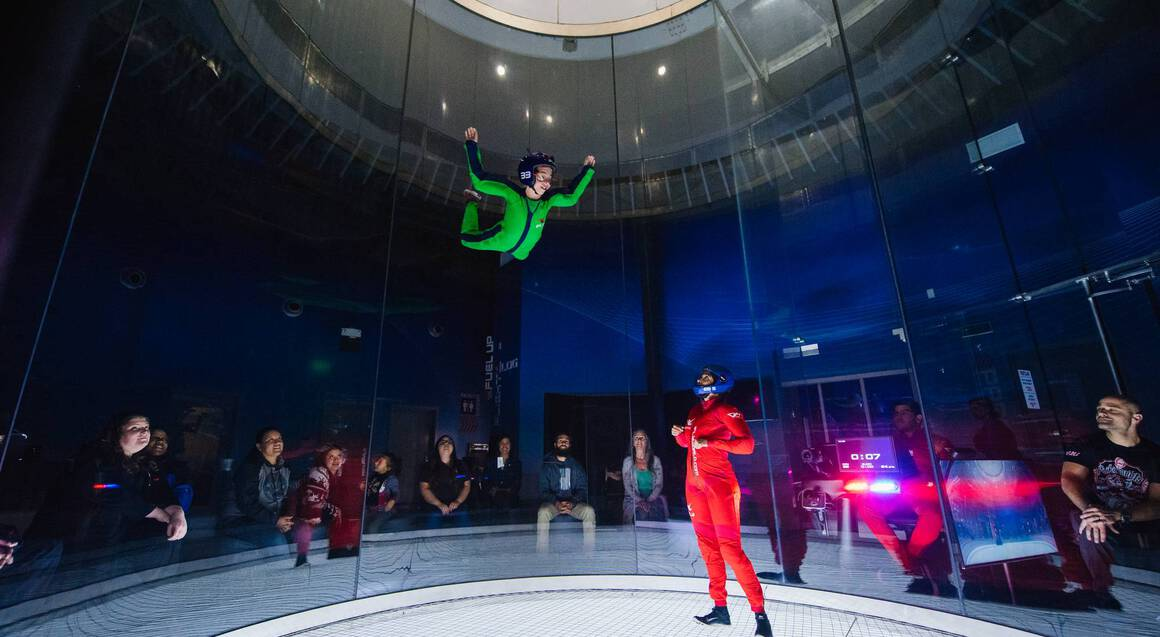 iFLY Brisbane Indoor Skydiving - 4 Flights - Weekend