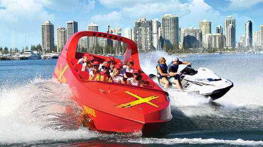 Jet Boat Thrill Ride and Jet Ski Experience - For 2