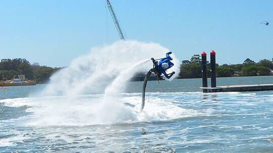 Jetpack and/or Flyboard Experience - Sunshine Coast