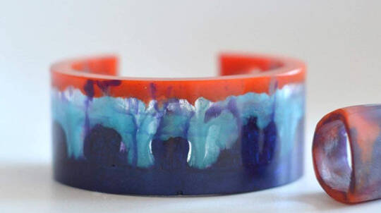 Resin Jewellery Workshop with Bubbles and Grazing Platter