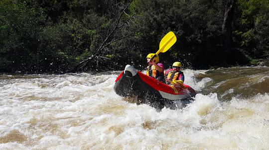 Whitewater Rafting and Adventure Caving Day