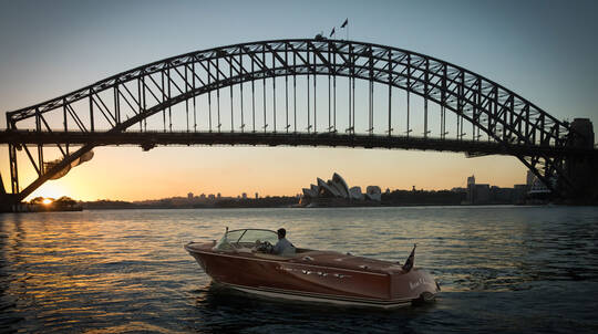 Vivid Sydney Private Harbour Cruise - Weekday - For 4