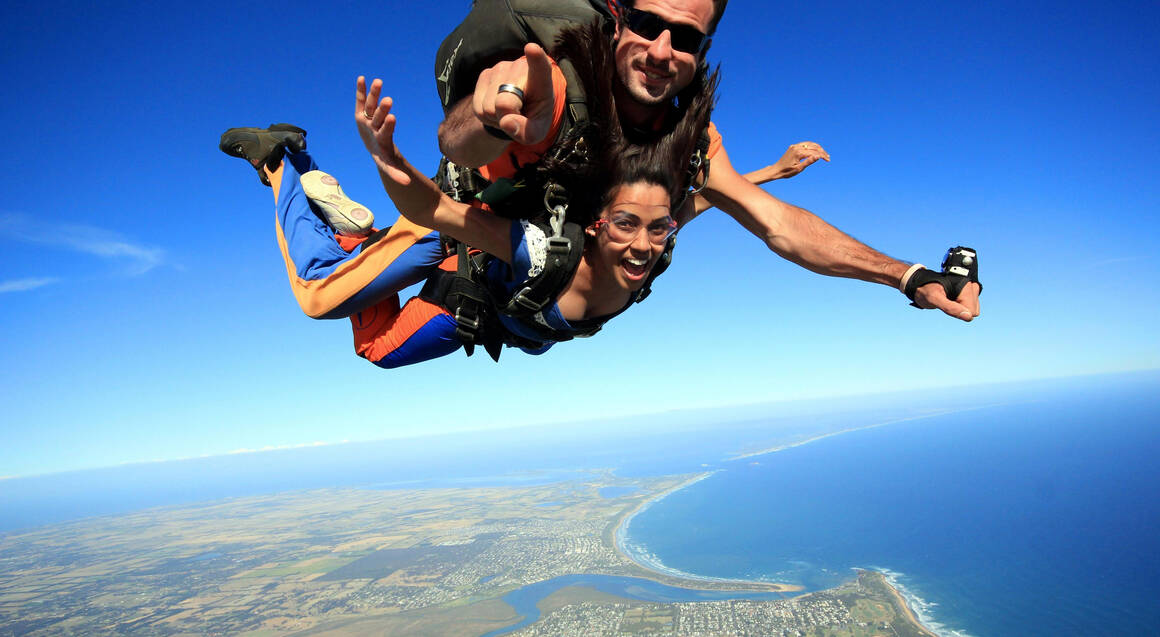 Skydive Great Ocean Road - 15,000ft - Midweek