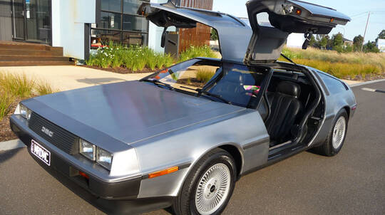 Delorean Time Machine Joyride