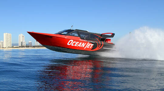 Jet Boat Ocean Thrill Ride with Free Video and Photo - For 2