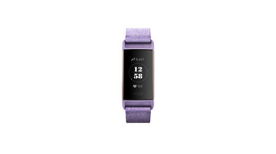 Fitbit Charge 3 Health and Fitness Tracker - Purple or White