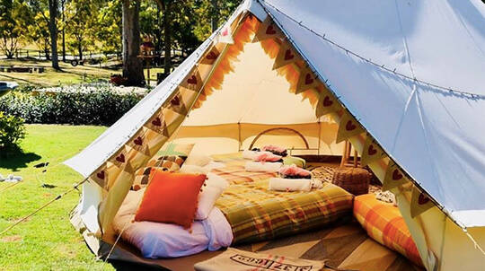 Children's Glamping Birthday Party Package - For up to 8