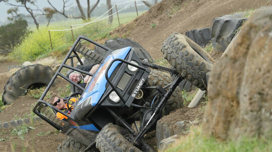 4WD Adventure Drive and Passenger Lap - 1 Course