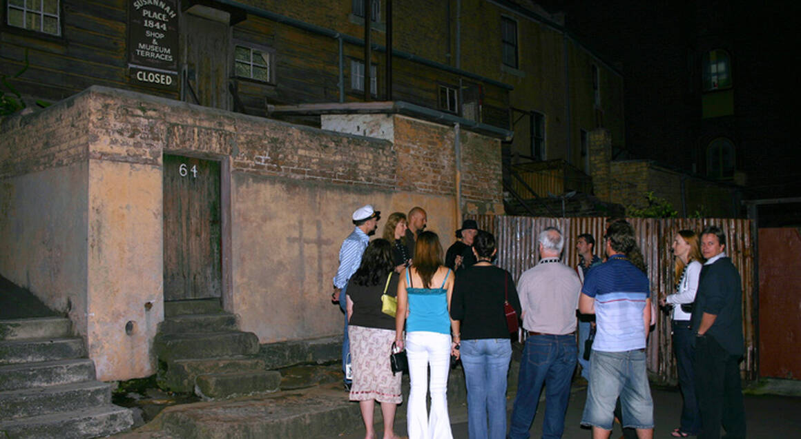 Ghost Tour of Historic Sydney - 2 Hours