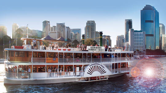 High Tea Cruise on the Brisbane River - For 2