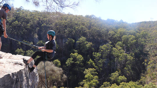 Abseiling In The Adelaide Hills - Half Day