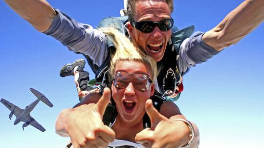 Tandem Skydive Jump - Up To 14,000ft - Flexipass