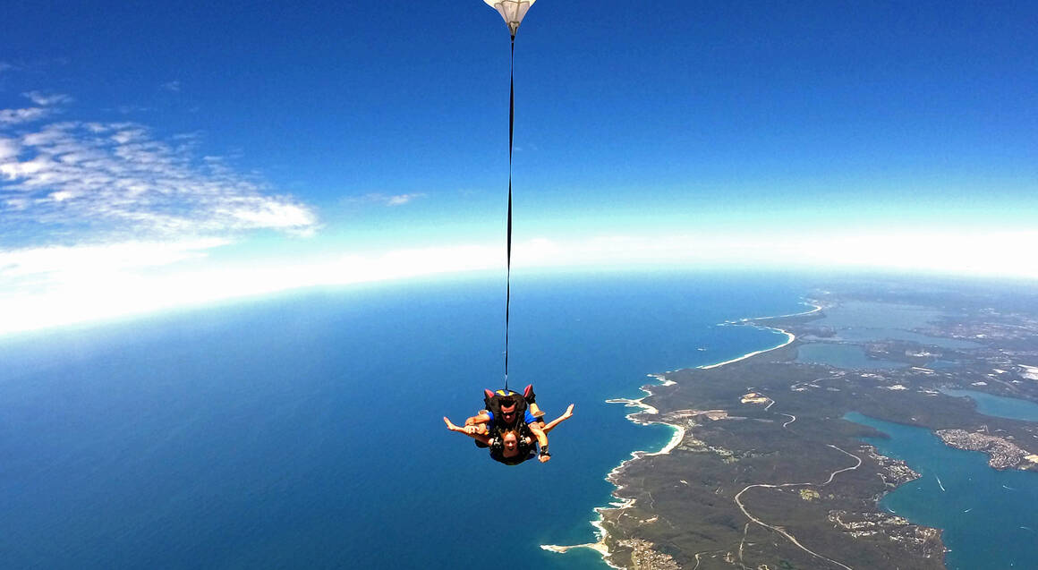 Skydive Over Newcastle - 15,000ft - Weekend
