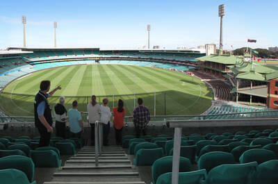 View of the Sydney Cricket Ground