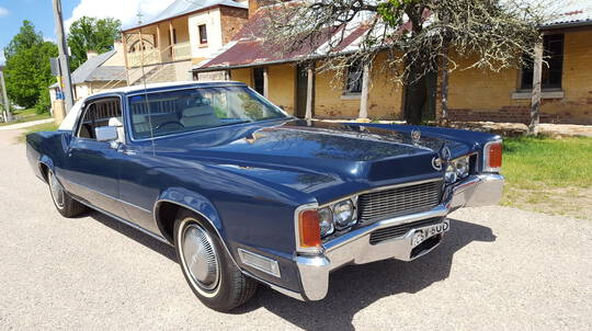 1969 Cadillac Eldorado Full Day Car Hire
